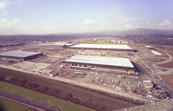 New factory was built for the DeLorean, using British taxpayers' money.