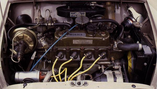 The 1275cc engine of the MkII Mini-Cooper S.