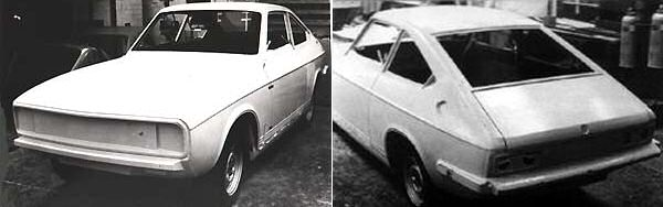 The Marina Coupe look-alike Mk III Equipe never progressed beyond the prototype stage...