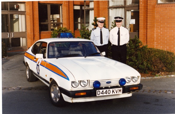 Ford Capri Injection was popular with police officers...