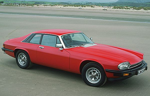 Jaguar XJ-S: it would achieve a maximum speed of 153mph...