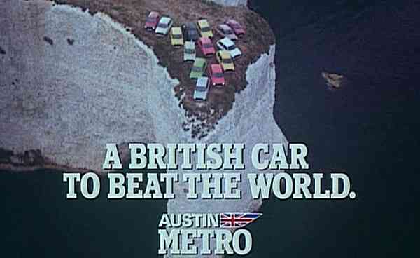 Back in 1980, it seemed the whole of Britain was behind the Metro...