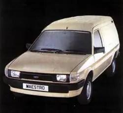 1985 Austin Maestro 500 van