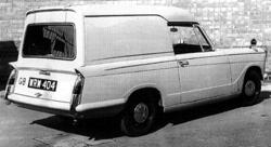 Triumph Herald van proposal