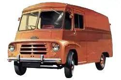 1960 Morris LD4 van