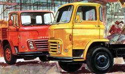 Austin FJ 5-ton and 7-ton trucks