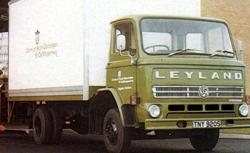 1977 Leyland Terrier with G cab