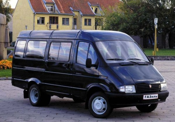 GAZ GAZelle van (or Transitski is it is affectionately known) is a development of the proposed LDV 201 Sherpa replacement.