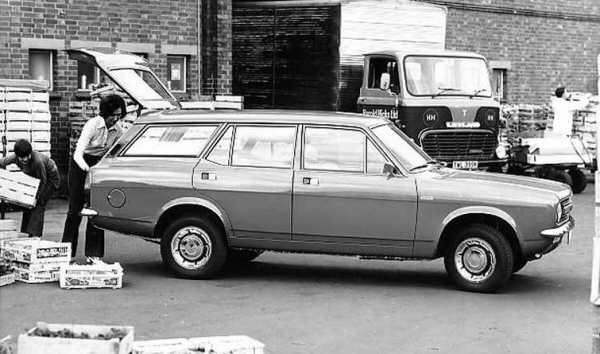 The practical and stylishly executed estate version followed the saloon and coupe model onto the marketplace in 1973. Alongside the Allegro and Mini Clubman, the Marina estate ensured that BLMC maintained a significant presence in this area of the market.
