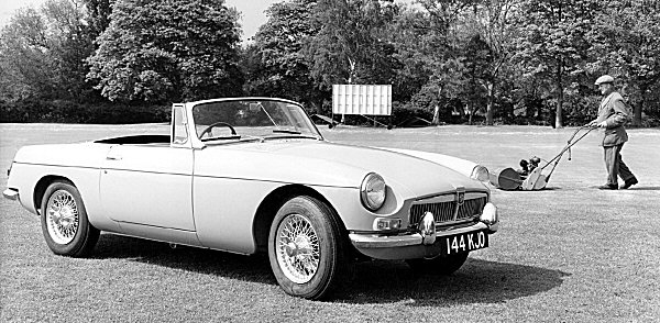 The cars : MGB development history