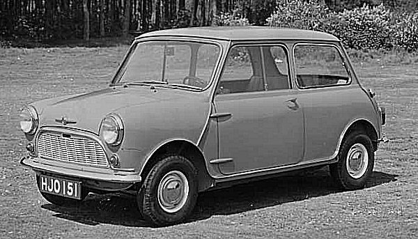 The Mini changed the world 50 years ago today