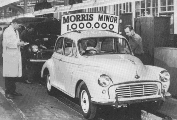Morris Minor was the UK's first million-seller