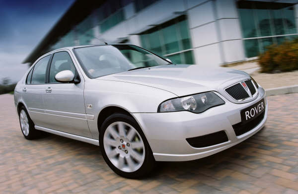 April 2004 saw the launch of the revised 45... a new 75 style nose, revised dashboard and extra equipment allowed the 45 to compete for just a little longer...