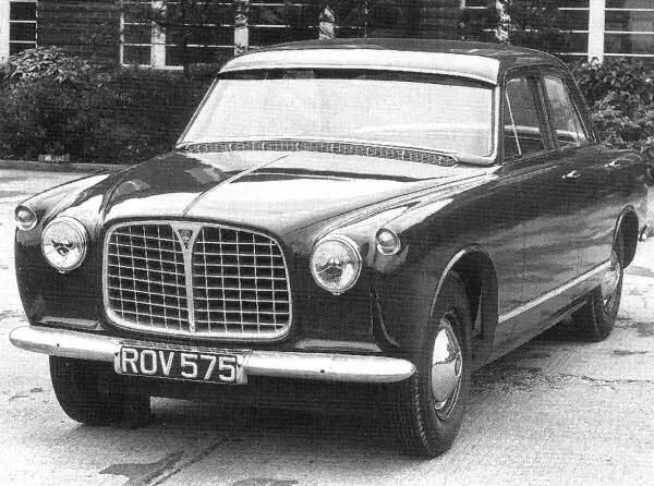 Rover P5 prototype