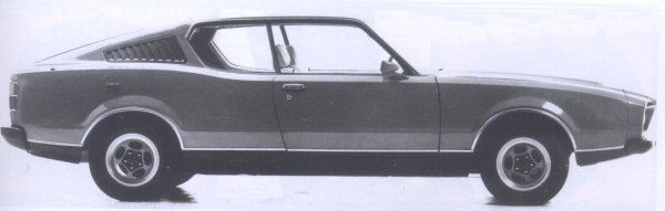 It is obvious from the above picture that the Force 7 shared no external panels with the P76 Sedan; and it had a certain style. In profile, it doesn't look too bad at all!