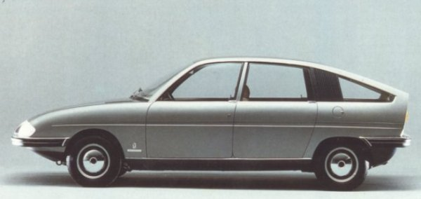 "Follow up to the Pininfarina 1800 proposal of 1967, this fully engineered prototype built on Austin 1100 running gear was commissioned by BLMC, who had been impressed by the original. This car represents an even bigger missed opportunity than the larger car and its relevance is thrown into great relief by the absolute ugliness of the 1100's replacement, the Allegro - and it comes as a disappointment to report that not only was this car passed over by British Leyland, but they reported to Pininfarina that they were ""disappointed"" with the design for being ""too close"" to the BMC-Pininfarina 1800!"