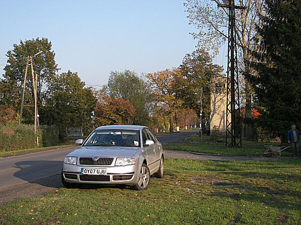 The Skoda Superb 2.0TDI might not be the most exciting conveyance, but trust me, it's perfect for a fast thrash to Poland. 550-600 miles between refuels, quiet cruising, excellent stereo, and 120mph cruising in Germany. A detour via the Czech Republic on the return journey, must have had it feeling at home...