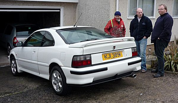 The deal is done - now time to drive it in a southerly direction for 350 miles...