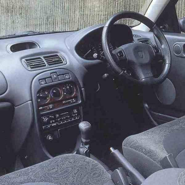 New dashboard moulding was a welcome addition to the R3 programme: the evidence of this can be seen in this picture – the 200 possessed a bang up-to-date interior, which would have not been possible using the existing R8 dashboard.