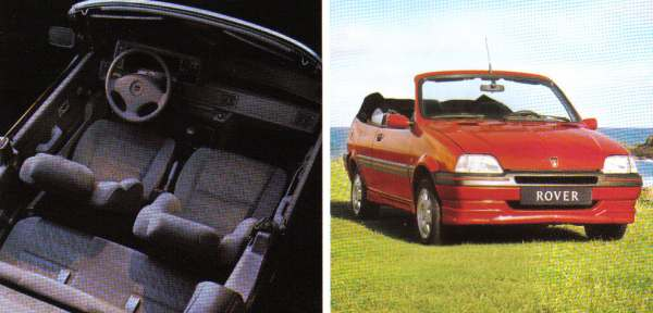 Initially launched in 1992 as the Metro Cabriolet (or 100 in overseas markets), Rover finally had an entrant in the market for small open topped cars...