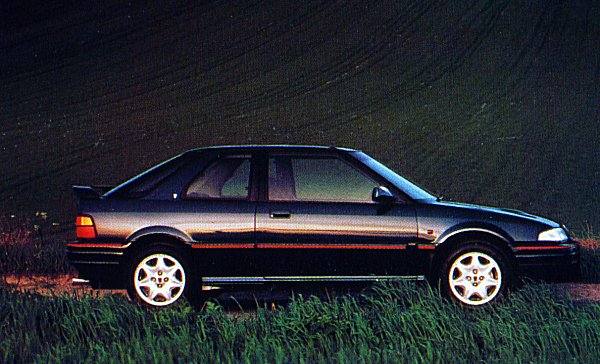 The three-door GTi received the 136PS Rover T16 engine to create the 220GTi 16V.