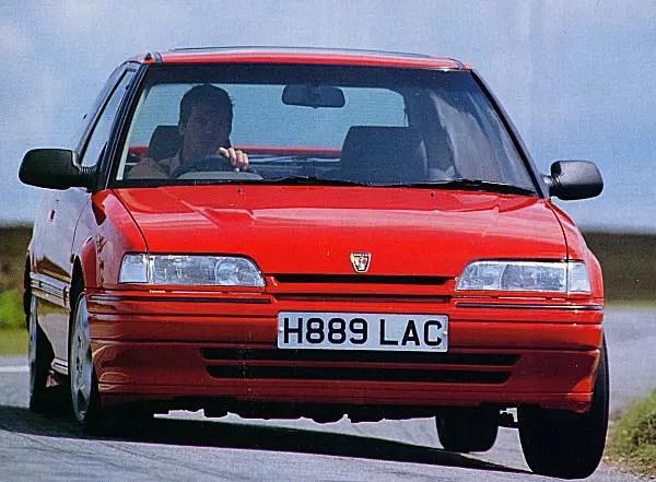 1991 Rover 220GTi 16V.