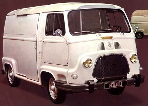 The Estafette was Renault's first front wheel drive vehicle...