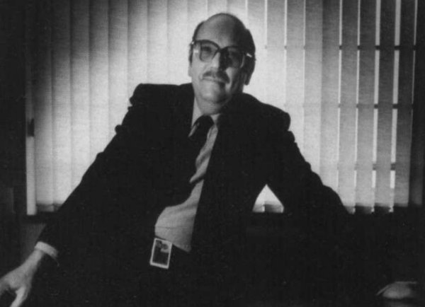 Roy Axe, pictured in 1986 - he would be responsible for the change in the company's design direction, and the eventual family identity that the company's products shared. The appointment of Axe, replacing David Bache as the Director of design also acted as a spur for the company to upgrade their design facilities which were up to that point, rather past their sell-by date.