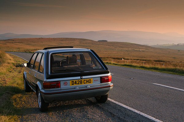 MG Maestro EFi takes a 600 mile day in its stride....