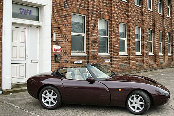 The TVR factory at Bristol Road is silent...