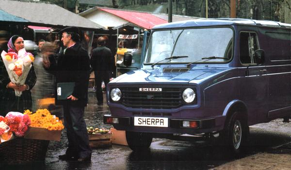 "When BL was restructured into Austin-Morris and Jaguar-Rover-Triumph divisions in the late 1970s, the Sherpa's grille gained an Austin-Morris badge. Its rear badging proudly boasted that it was now a Morris product, although publicity material never actually referred to it as a ""Morris Sherpa"". Rather more significantly, this also marked the point at which the 1.8-litre B-series engine was replaced by the 1.7- and 2.0-litre O-series, in a move which mirrored developments in the contemporary Marina and Princess models."