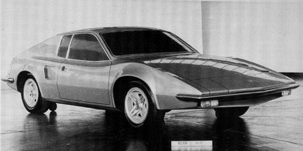 ADO21 featured a transverse mid-mounted E4-Series engine and used Hydrolastic suspension. It was cancelled in December 1970 and made way for what was to emerge as the Triumph TR7.