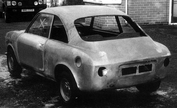 """This car (above), as featured in """"MG: The Untold Story"""" by David Knowles, is believed to be a surviving example of ADO35, bearing as it does a strong resemblance to ADO34, along with the hallmarks of Pininfarina's involvement in its design and production. It is now undergoing restoration in the hands of an enthuisast."""