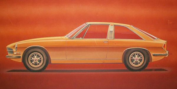 Given it's a Michelotti design, there are clear Triumph styling cues in this proposed MGB.