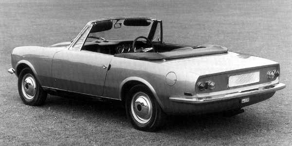 Lotus Elan or Pininfarina MG? Either way, this deliciously proportioned convertible continued the family style defined by the Midget and the MGB