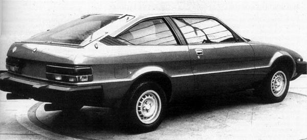 "The Lynx from arguably its best angle. The bumpers and rear lamp clusters may have been a little heavy handed, but the car was on a different planet to the TR7 (and MGB) when it came to practicality. Rear seating is surprisingly effective, as it the boot area – the only downside was the high boot sill... not too much of an issue in a sports car, though! (Picture: ""MG: The Untold Story"", by David Knowles)."