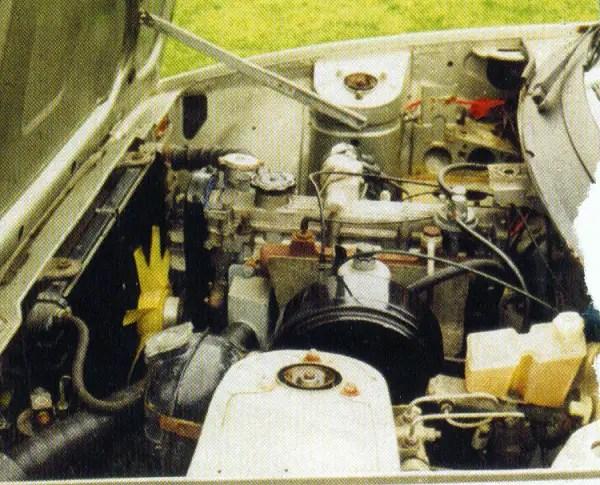 O-Series engine looks a straightforward fit.