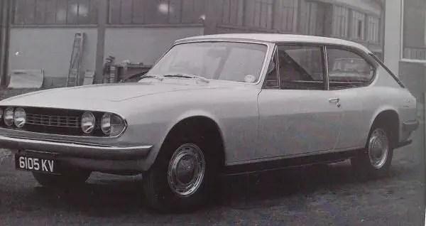 Triumph Stag prototype