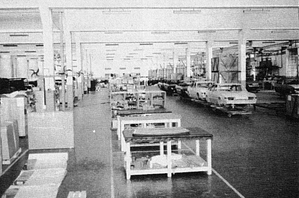 Standard 2000s coming off the line, as photographed during 1987.