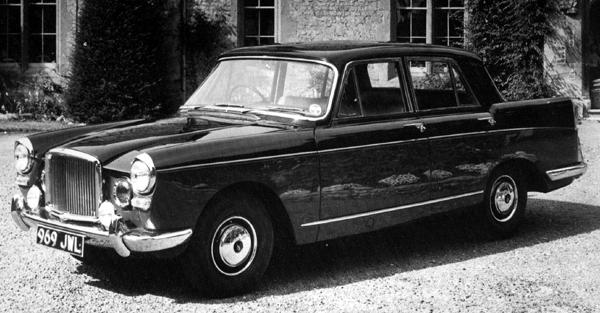 """Roland Fox recognised the brilliance of Lord's decision, but had barely three months to put it into practice. He decided that the new car's grille should be part-Bentley, part-Alvis in appearance, and Lord gave the new design the go-ahead. In October 1959, the car was launched as the """"Princess 3-litre"""". However, in the minds of the public, the Princess name was still firmly associated with Austin, so in a move to overcome the fact that the new car was being referred to as the """"Austin Princess 3-litre"""", BMC took the bold decision to brand the cars as the """"Vanden Plas Princess 3-litre"""" from May 1960 onwards, and in due course the BMC coachbuilding subsidiary became known as """"Vanden Plas Princess Cars"""". All future Vanden Plas Princess models would follow the style set by the 3-litre."""