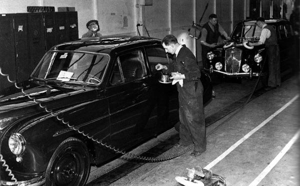 The Gerald Palmer-designed Wolseley 15/50 in production at Cowley during the BMC days. Although the 15/50 and its sister car, the 6/90 were surely amongst the most stylish of Wolseleys, Palmer maintained that Leonard Lord used the 6/90 as the pretext in an attempt to dismiss him in 1955, after Autocar had criticised it in a road test. The criticisms of the car were fairly minor – and all could have been quite easily addressed – but it seems Lord wanted Palmer's scalp, adding the Riley Pathfinder's combination of high warranty costs and poor service reports to the charge sheet. Lord offered him a stark choice: resign or accept demotion. Palmer saw he had no option but to tender his resignation, although he acknowledged that Lord arranged a not-inconsiderable pay-off of £7500, plus the gift of an MG Magnette. Palmer later took up a position with Vauxhall at Luton.