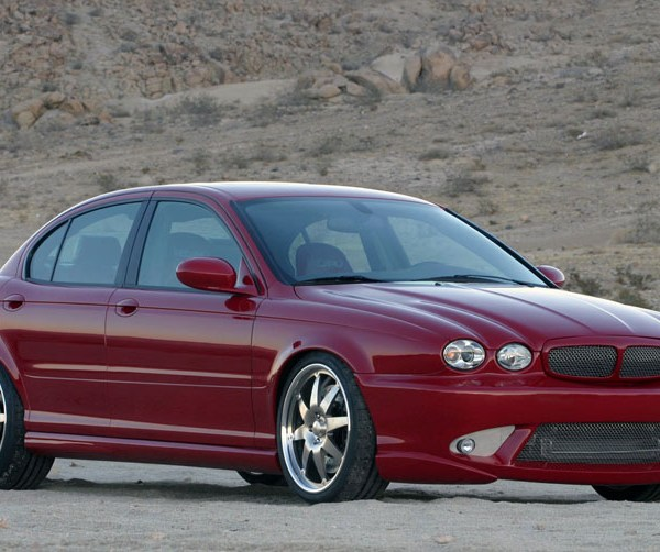 Bonspeed Jaguar X-Type hints at how the X-Type R could have looked...
