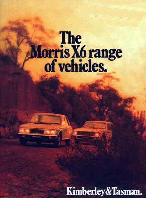 The Morris versions of Kimberley and Tasman, as sold in New Zealand.