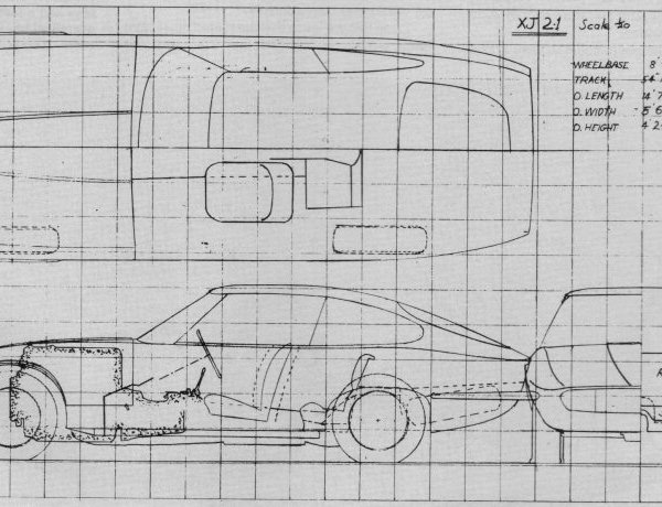 More Italianate XJ21 proposal...