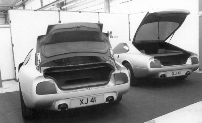 Hatch and saloon were trialled - in the end, the company went for the costly option... the hatch.
