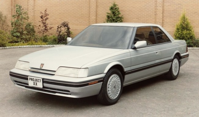 Coupe or saloon? Early thoughts on the Rover 800 Coupe centred on producing a two-door saloon, which would have appealed to the US market – the car's main target area.