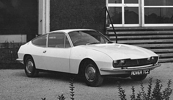 The Zagato TCZ made it into production as the Rover 3500 Coupe, and 352 were built...