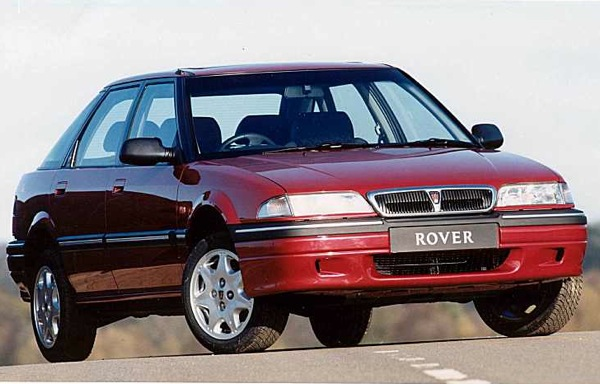 Rover 200: a shining star in the 1995 Rover range