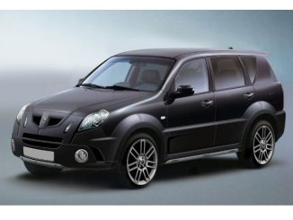 Peter Stevens' design facelift to turn the Ssangyong Rexton into an MG.
