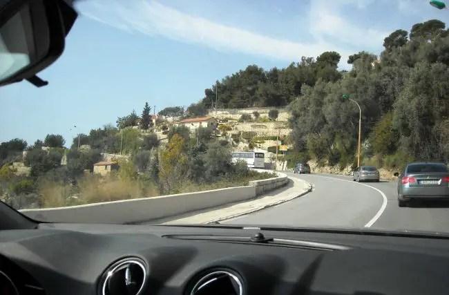 In convoy